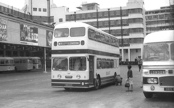 1959 Leyland Atlantean PDR1-1 with Weymann 50 seat coach body