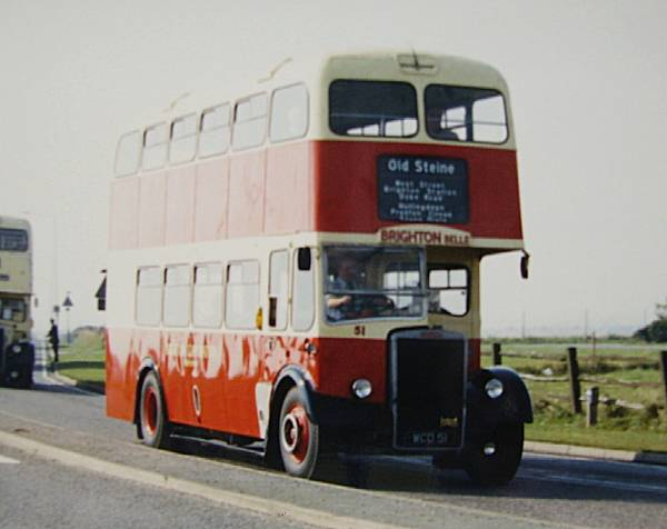 1959 Leyland PD2-37 with Weymann H61R body