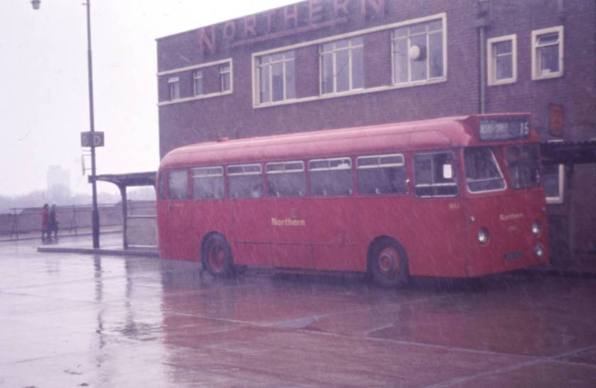 1959 Leyland Tiger Cub PSUC1-1 with Willowbrook B45F bodywork