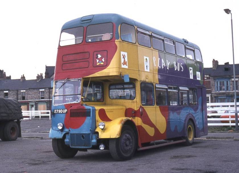 1959 Leyland Titan PD2-40  with Weymann bodywork
