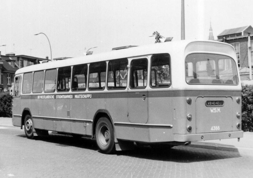 1959 Leyland-Werkspoor WSM 4366 2 25-5-1964 foto L Bollen