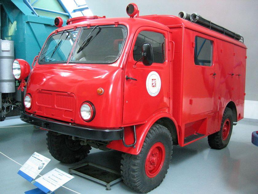 1959 Tatra T805 hasiči
