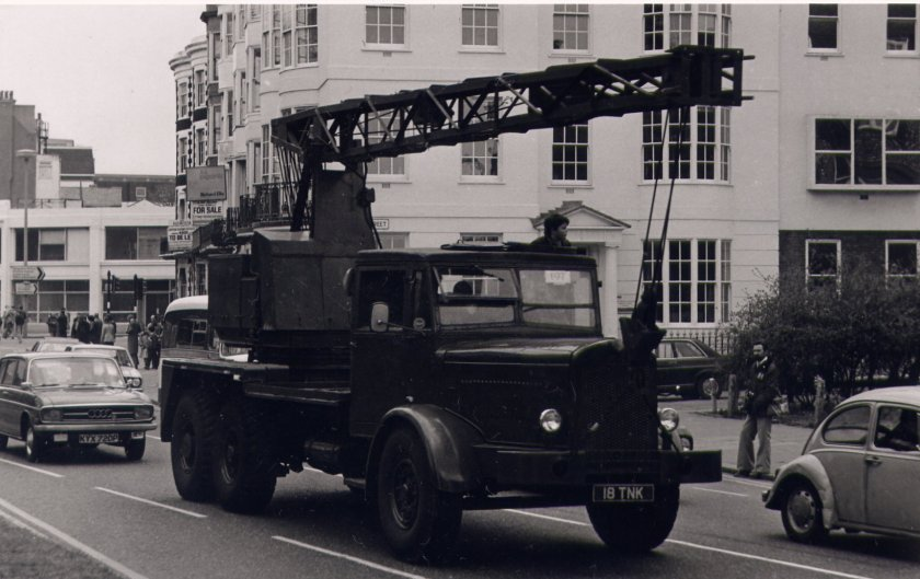 1959 Thornycroft Amazon WF6 Coles Mk7 Crane
