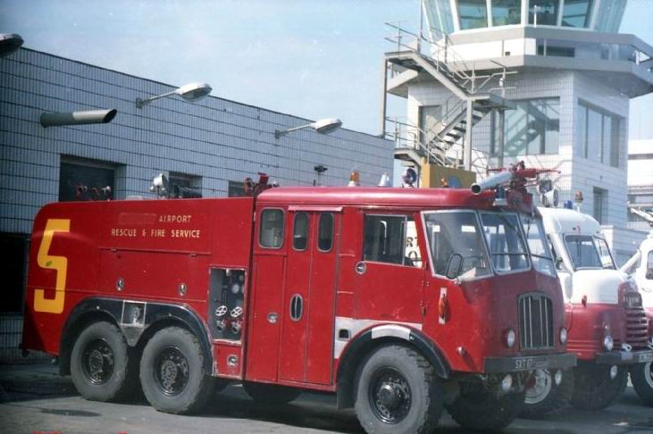 1959 Thornycroft Newcastle Airport crashtender