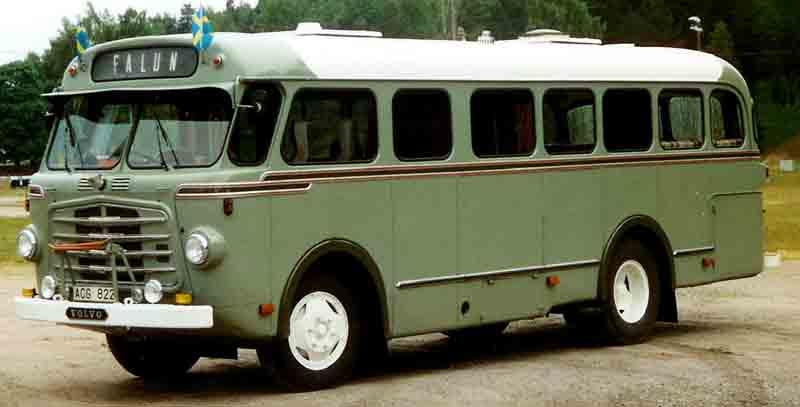 1959 Volvo B 70501 Bus