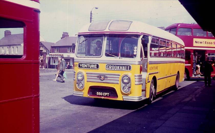 1959 Willowbrook Viking C41F bodied Leyland PSUC1-2 Tiger Cub