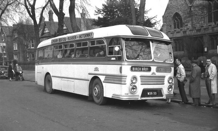 1959 Willowbrook Viking C41F bodied Leyland PSUC1-2 Tiger Cubs