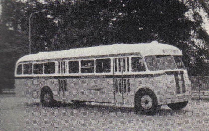 1960 AEC Regal MkIII AEC 125pk carr Verheul GTW 232