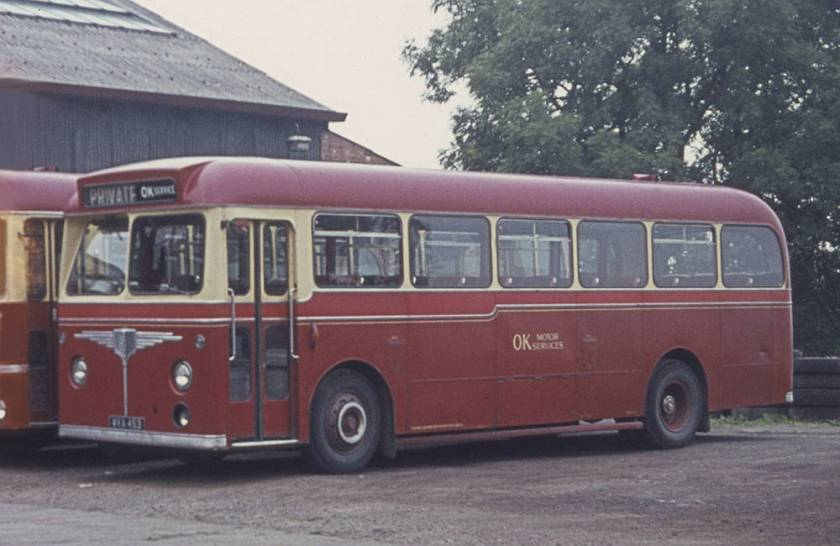 1960 AEC Reliance 2MU3RA with Willowbrook B45F body