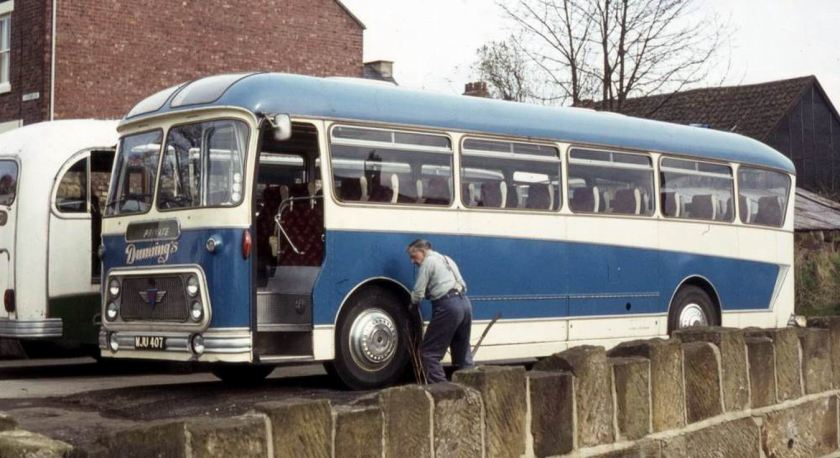 1960 AEC Reliance 2MU3RA with Willowbrook Viscount C41F bodywork.