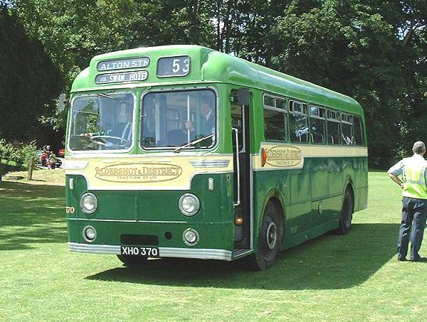 1960 AEC Reliance 2MU3RV with Weymann B40F body