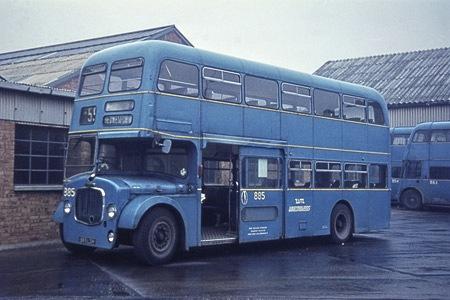 1960 Dennis Loline IIYF10 Willowbrook H44-30F 885-LDH