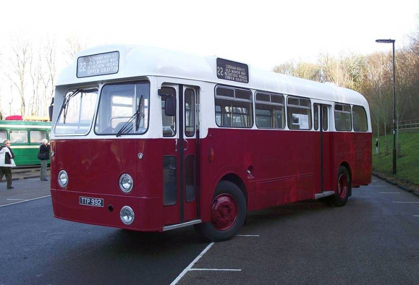 1960 Leyland Tiger Cub PSUC1-1 with Weymann B34D body