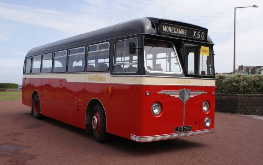1960 Leyland Tiger Cub PSUC1-2 with Willowbrook dual purpose 43 seat body