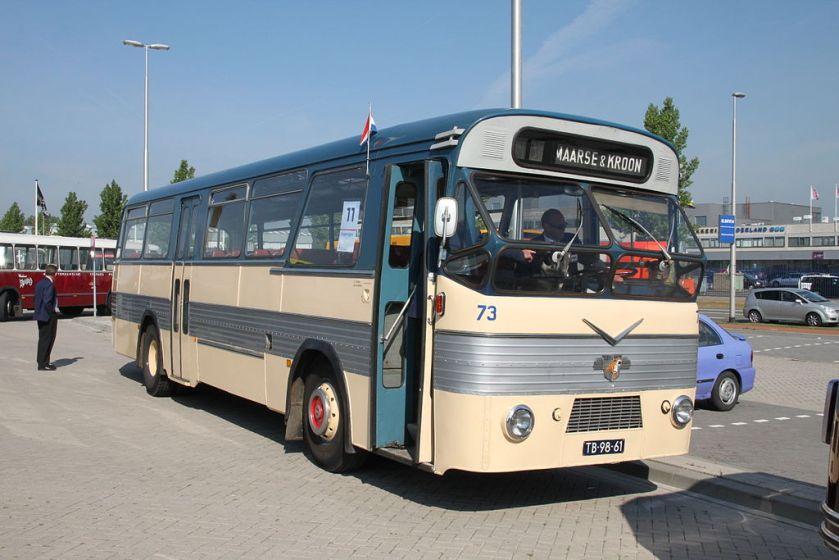 1960 Leyland-Verheul voorstadsbus 73 uit 1960, Maarse & Kroon, Aalsmeer