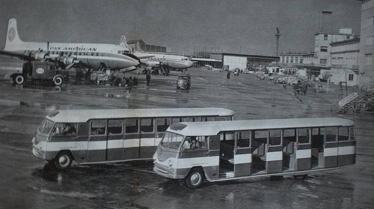 1960 tempo Matador vliegveldbussen