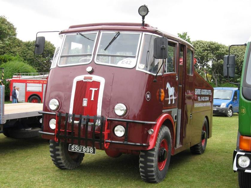 1960 Thornycroft Nubian Recovery Truck