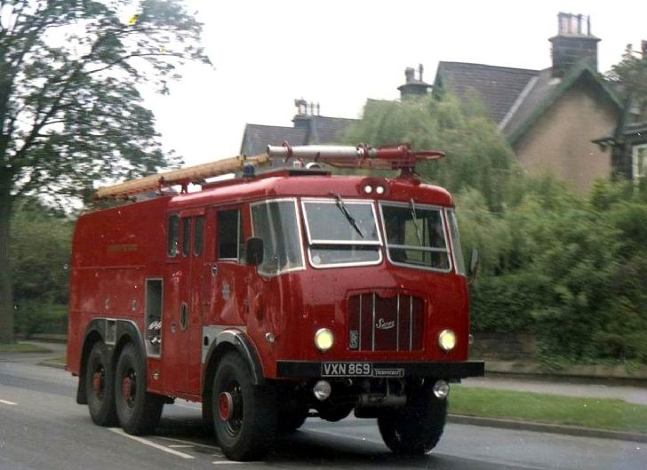 1960 Thornycroft Sun VXN 869