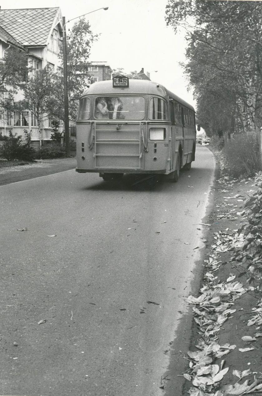 1960 U-8432 = Scania Vabis BF75, bygget av Vestfold Bil & Karosserifabrikk ( VBK ) i Horten, 1960