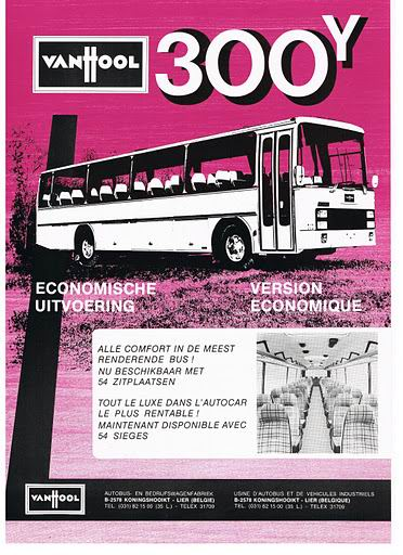 1960 VAN HOOL 300Y