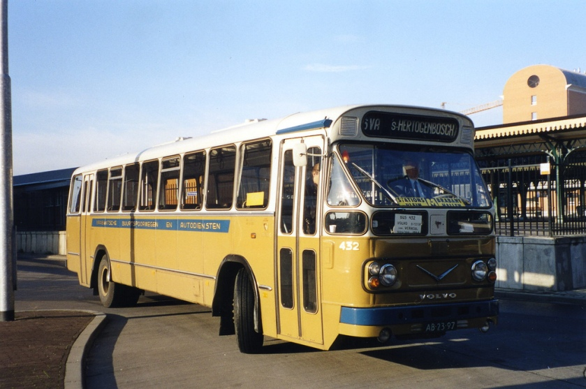 1960 Volvo-Verheul bus BBA