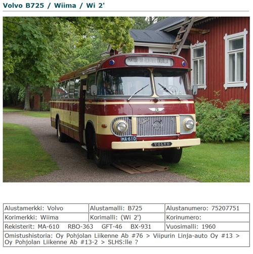 1960 Volvo Wiima
