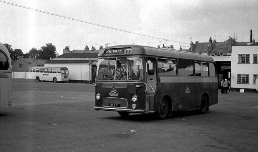 1960 Weymann DP30F bodied Albion NS3AN Nimbus