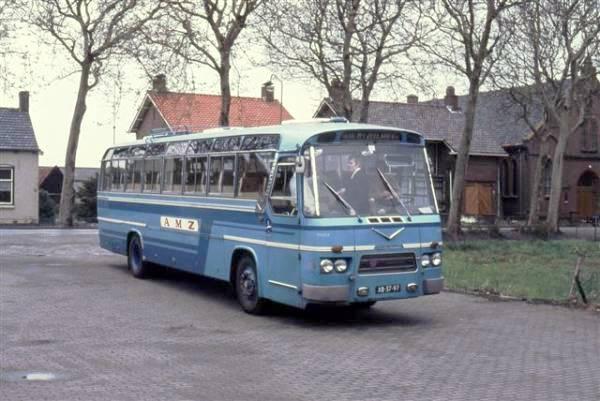 Bus No. 126 AEC-Verheul 1964  XB-17-47.