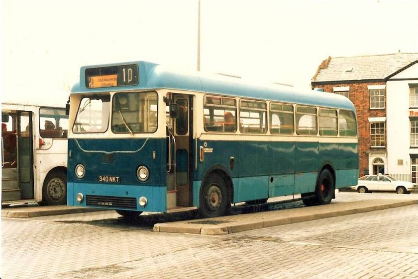 1961 AEC Reliance with Weymann body