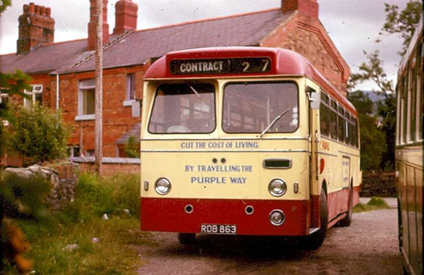 1961 AEC Reliance with Willowbrook B43F body