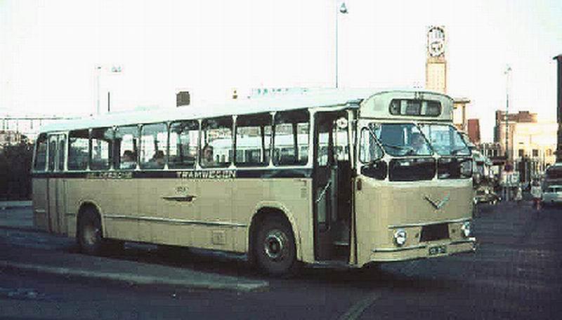 1961 AEC VB10 AEC AH690 180pk carr Verheul 1961 GTW636 1962
