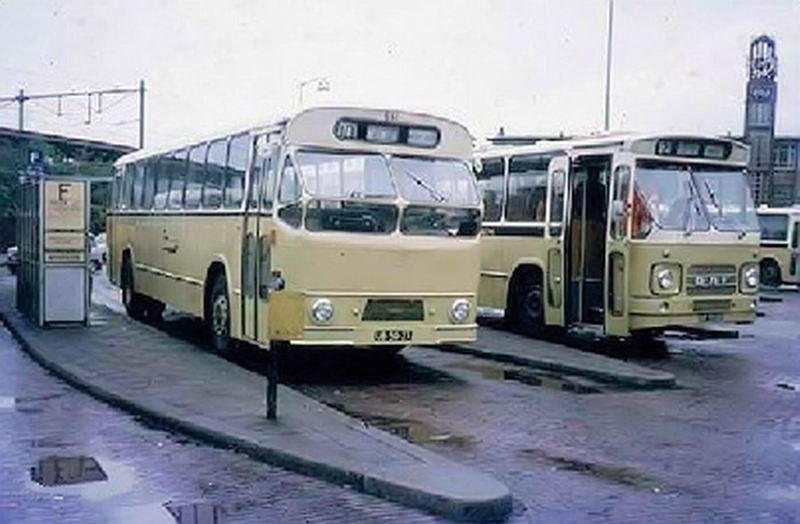 1961 AEC VB10 AEC AH690 180pk carr Verheul 1961 GTW651 1961