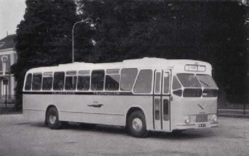 1961 AEC VB10 AEC AH690 180pk carr Verheul 1961 GTW685 1961