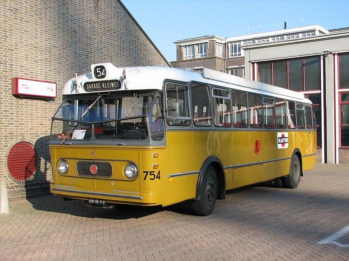 1961 Kromhout-Verheul VB10 RET 754 langs het ketelhuis