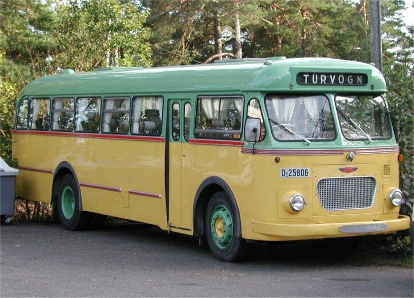 1961 Scania-Vabis B55 1961-modell med VBK-karosseri