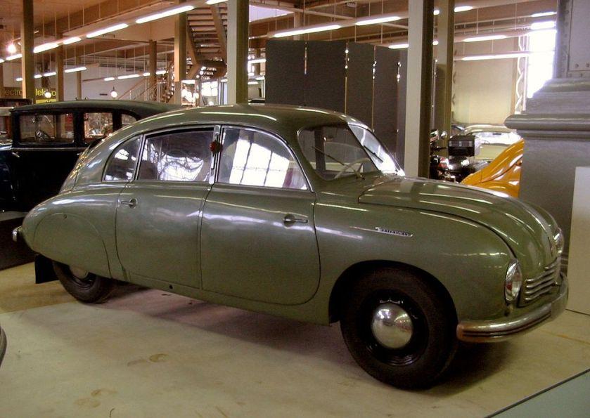 1961 Tatra T600 Tatraplan