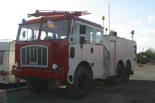 1961 Thornycroft Nubian Crash Tender