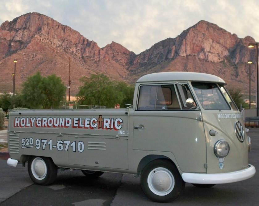 1961 Volkswagen Type II flatbed pickup truckElectrician-Tucson