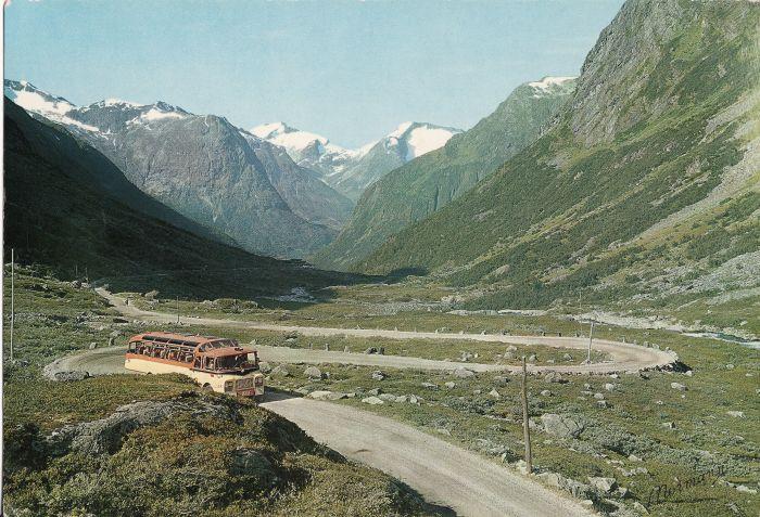 1961 VOLVO B615 chassis. Body by LIER KAROSSERI, DRAMMEN Strada