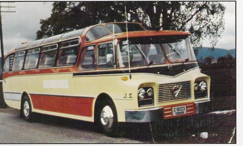 1961 Volvo B615 Strada Noorwegen