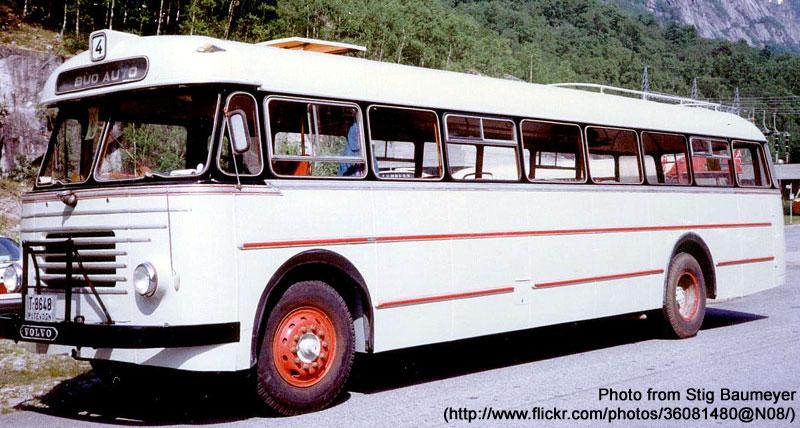1961 Volvo B615