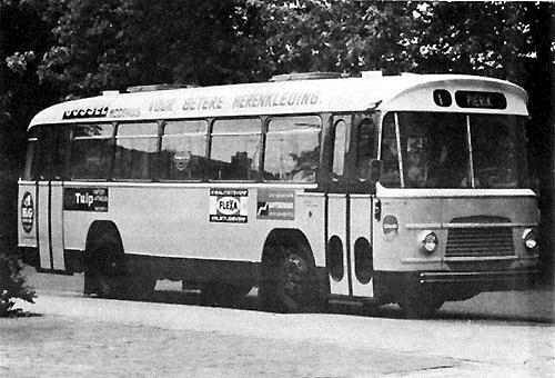 1961 Volvo ZABO City Coach stadsbus nr.8