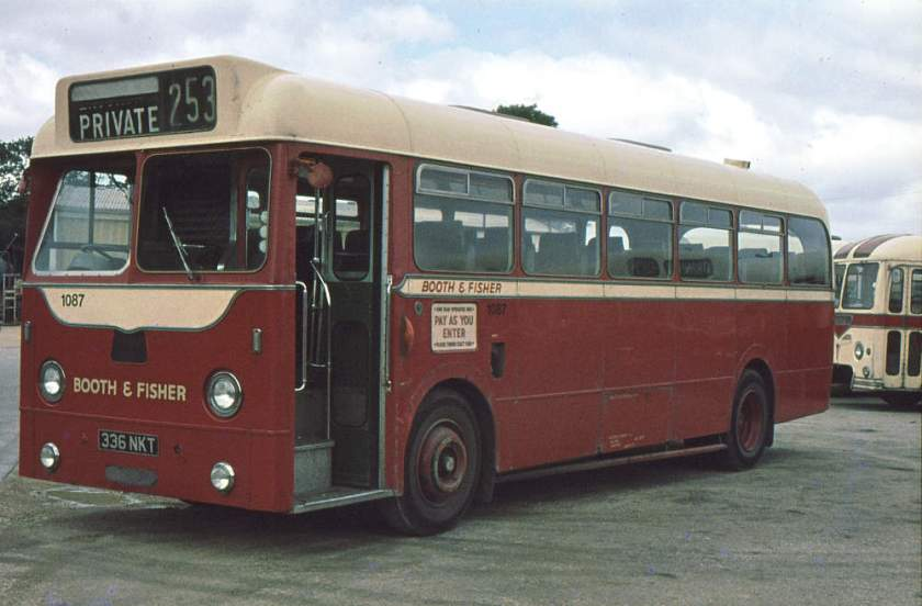 1961 Weymann DP40F bodied AEC Reliance 2MU3RV