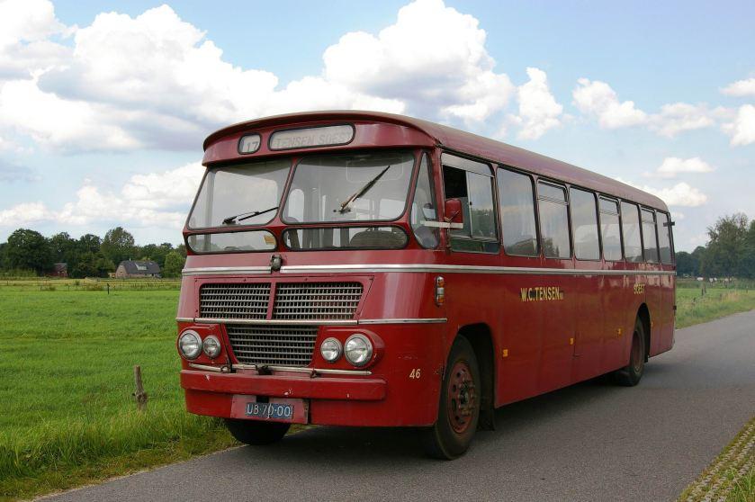 1961 ZABO Bus nr.46 Volvo Tensen Soest Museumbus