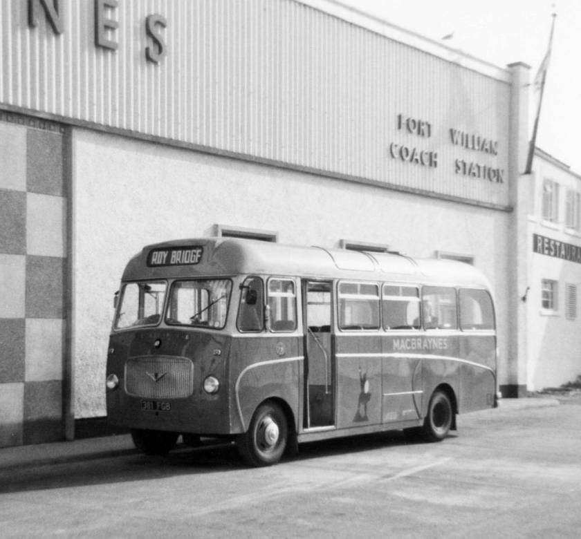 1962 Bedford VAS1 with Willowbrook B30F bodywork