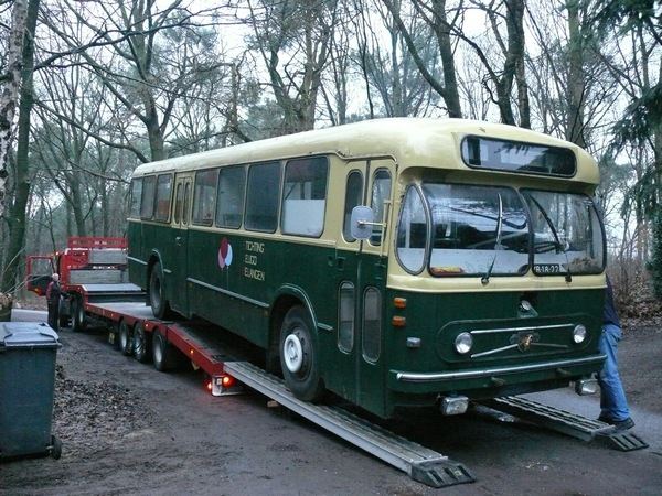 1962 Bolramer 5023 Leyland  Werkspoor A-Road, in buskringen beter bekend als bolramer, werd gebouwd in 1962