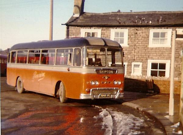 1962 Leyland Leopard L2 with Willowbrook body
