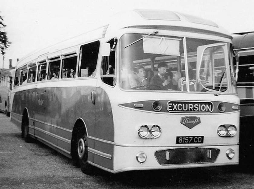 1962 Leyland Leopard with Weymann Castillian bodywork