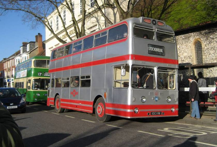 1962 Silver Star Leyland Atlantean 42, 1013MW, with Weymann L39-34F body