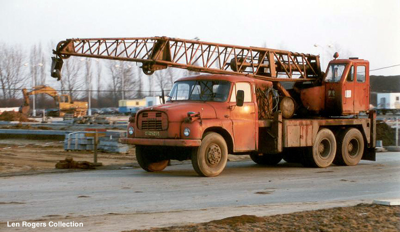 1962 Tatra with mounted crane